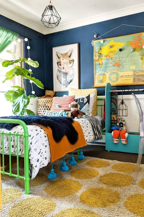 Vintage children's bedrooms