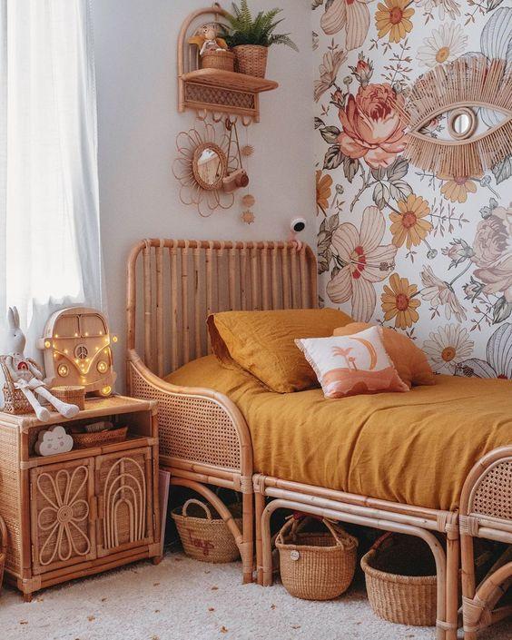 Natural fiber children's furniture