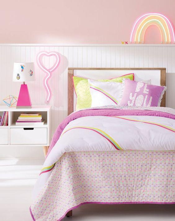 Rainbow children's room