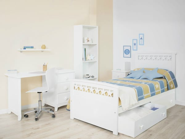 Children's beds with drawers