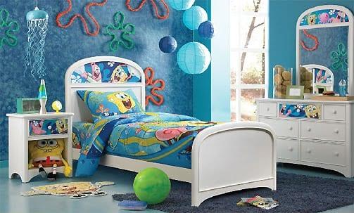 Spongebob children's rooms