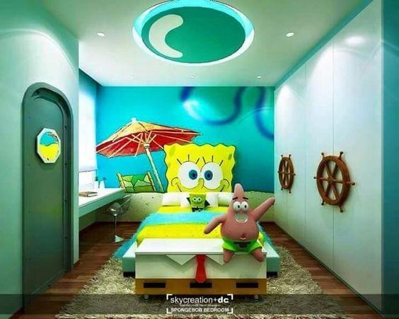 Spongebob room ideas
