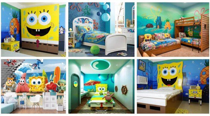 Themed children's rooms: Spongebob Squarepants