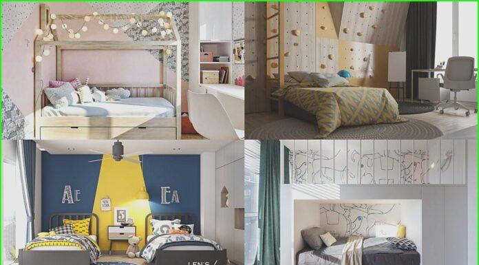 Design children's bedrooms