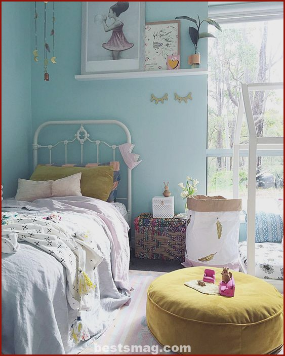 Blue rooms for girls
