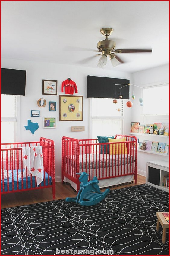 Ceiling fan baby room