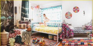 Boho Chic decoration for children and young people