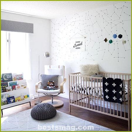 Baby rooms Ikea Sniglar crib