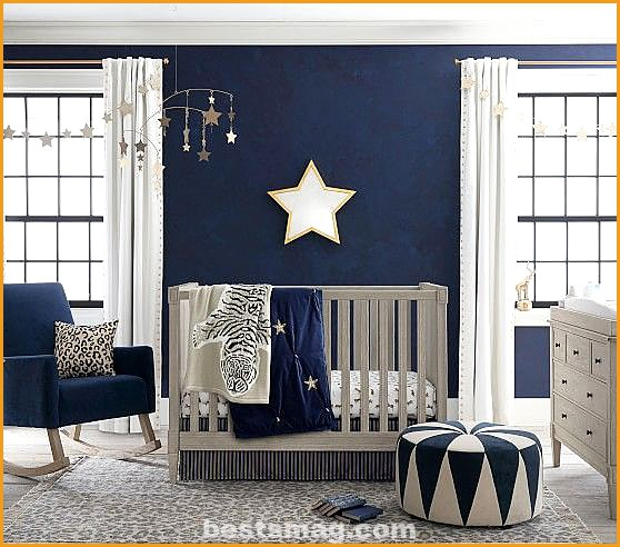 Classic Blue baby rooms