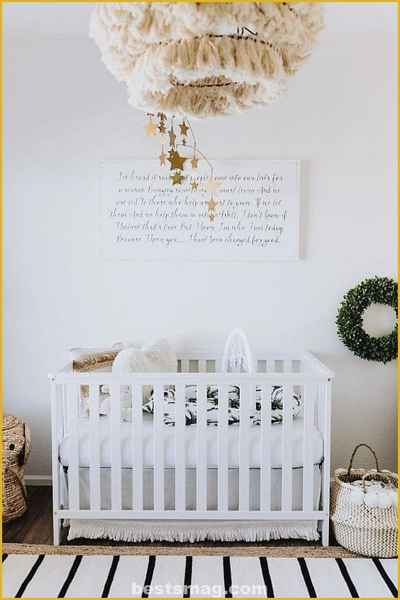 White baby rooms