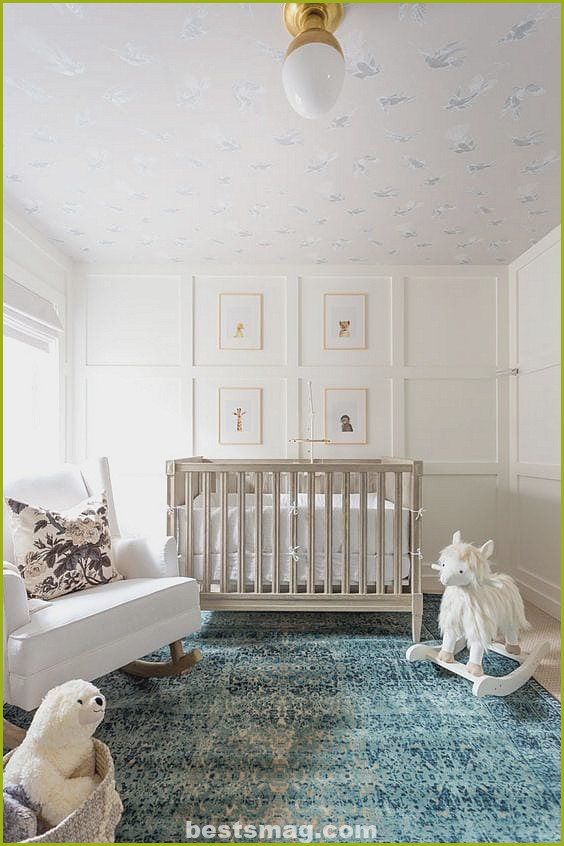 Tips for decorating: Baby room panels
