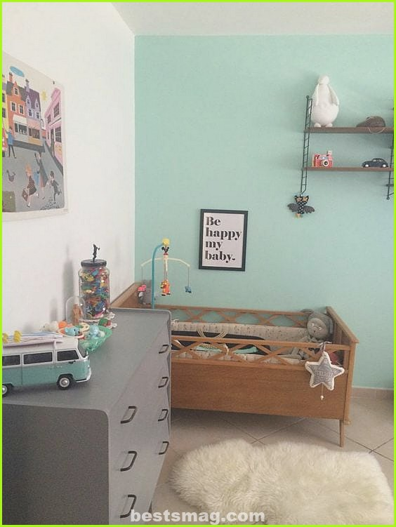 Mint green for the nursery