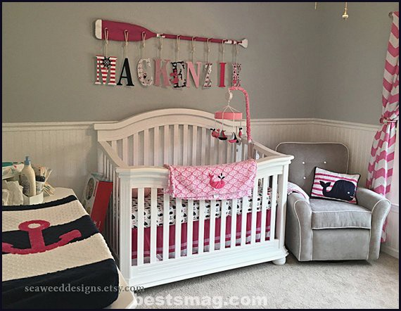 Marine decoration for baby girl