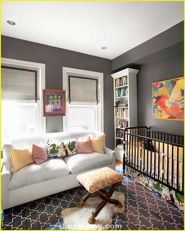 Gray baby bedrooms