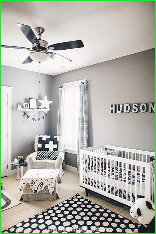 Gray bedrooms for babies