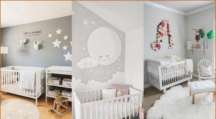 Dormitorios en gris para bebes