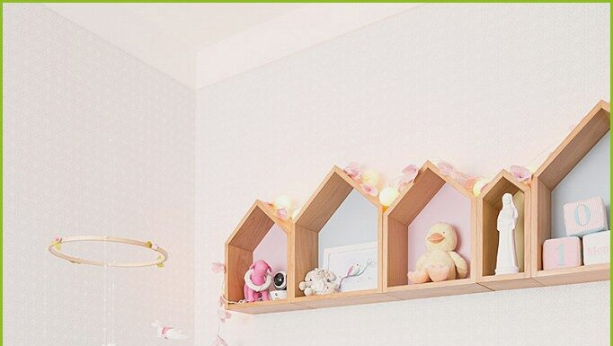 Pastel baby room