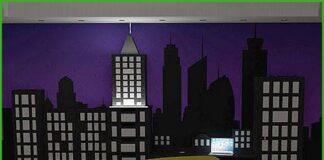 habitación temática new york