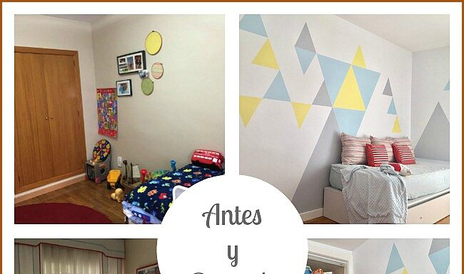 Children's room reform (Before and After)