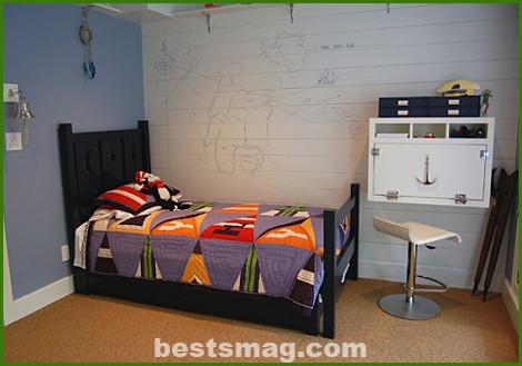 habitacion infantil marinera