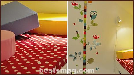 colored children's room