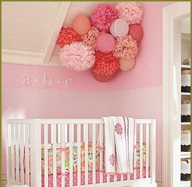 Ideas to decorate baby room