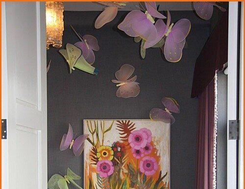 Baby decoration: butterflies