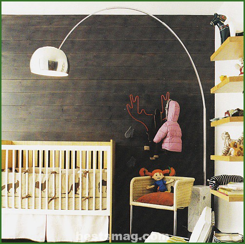 Decorate baby room walls