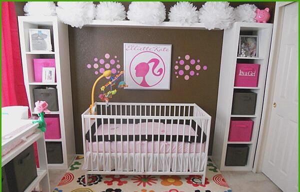 Barbie baby room