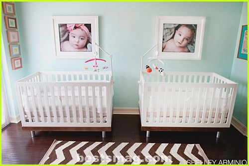 Ideas to decorate a twin baby room