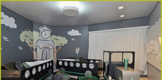 Twin or twin baby rooms