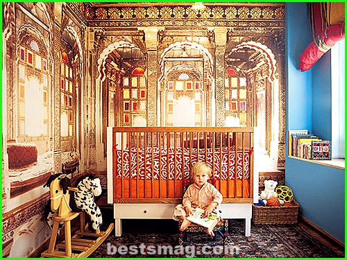 Themed children's rooms: Trip to India