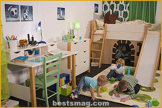 Children's room to play