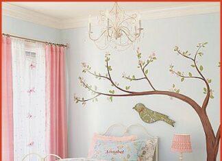 habitación infantil romántica