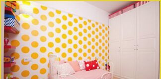 How to decorate a children's room economically