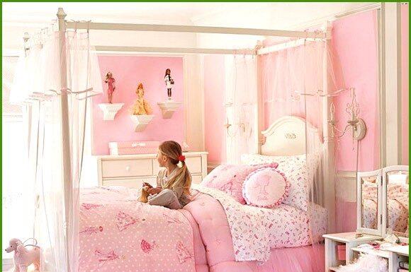 Idea to decorate a Barbie room