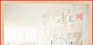 pared infantil letras
