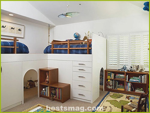 Pictures of children's rooms