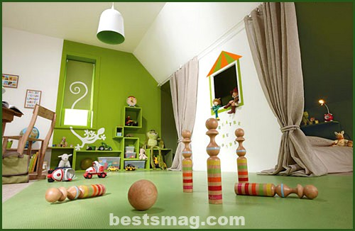 habitación tres espacios