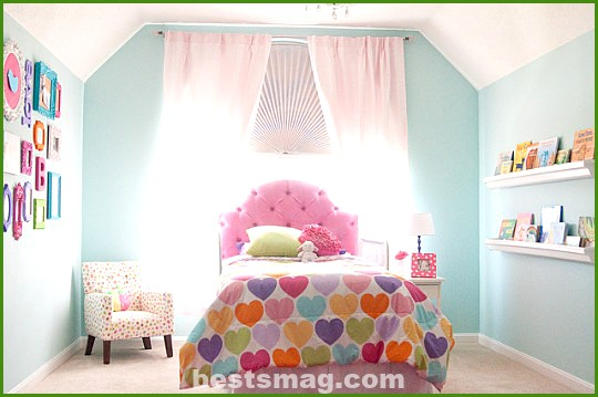 Youth rooms for girl