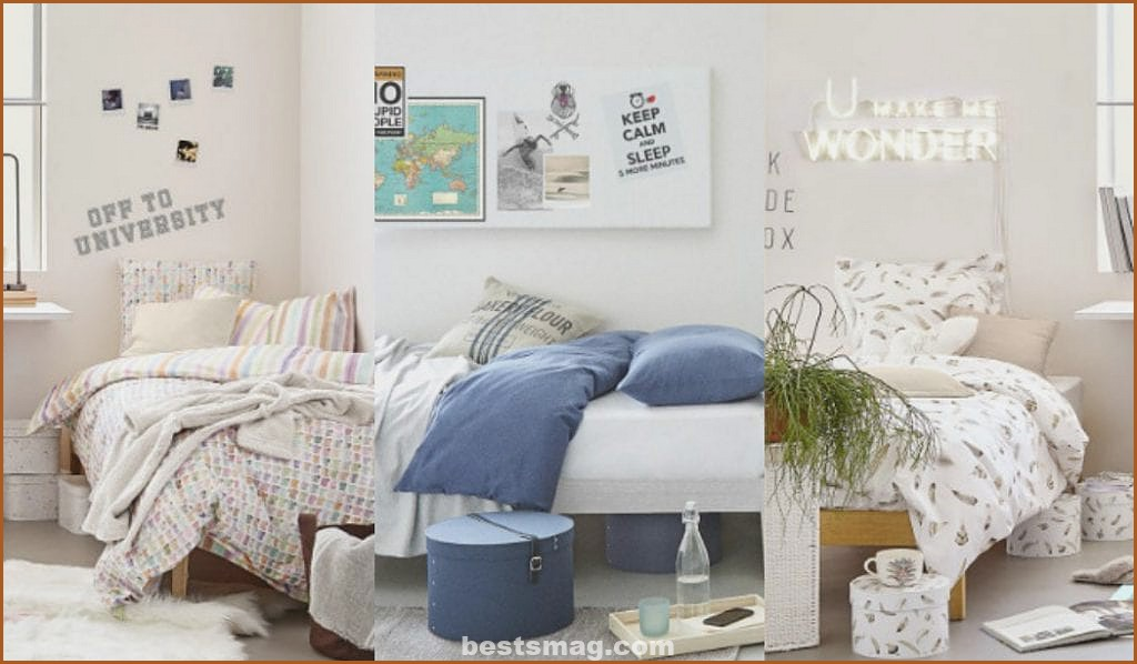 Decorate the room for the University with Zara Home