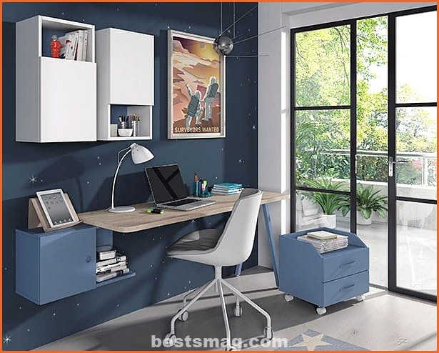 Study area in youth bedrooms