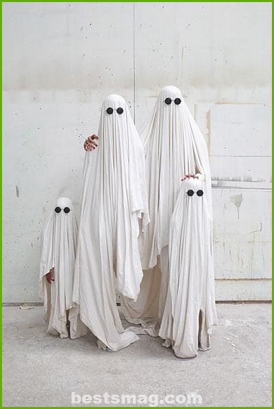 Ghost family costume