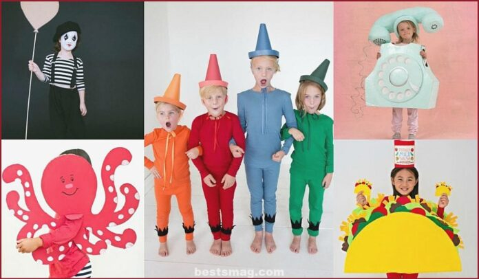 Carnival costumes for children that you can make at home
