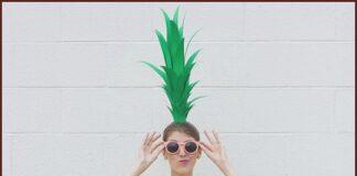 DIY Homemade Pineapple Costume