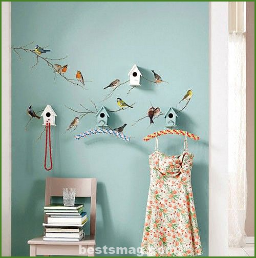 Decorate with little bird houses