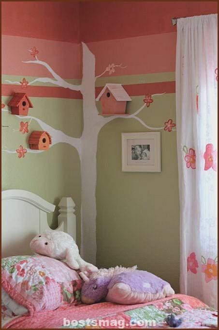 Decorating little bird houses