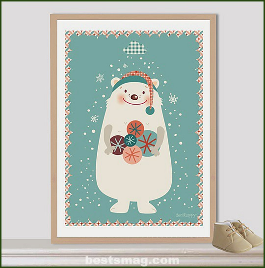 lamina-bear-christmas