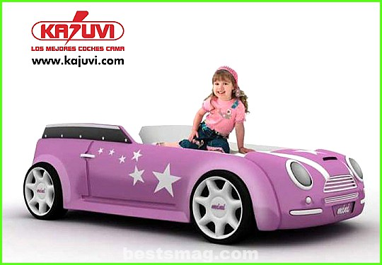 Car bed for girls