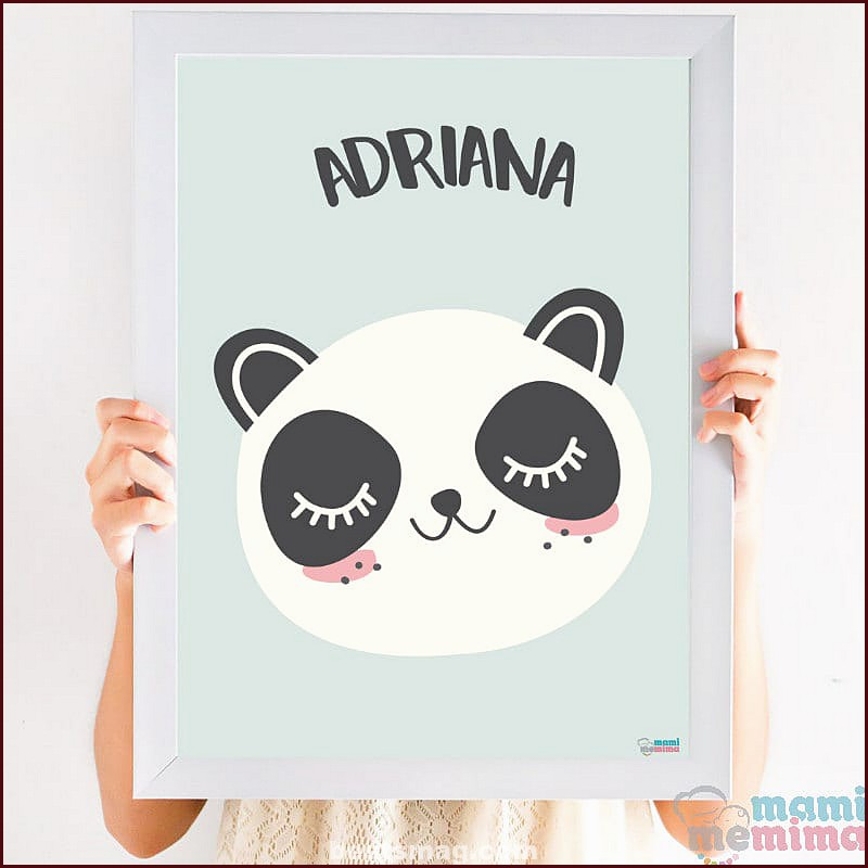 Personalized children's prints with the name